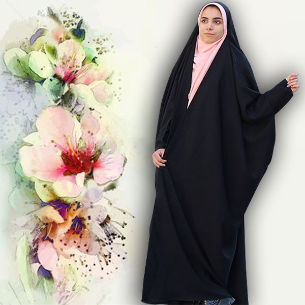چادر بحرینی کن کن ندا حجاب حدیث