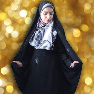 چادر حسنی کن کن ژرژت حجاب حدیث