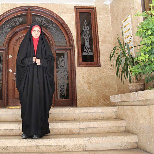 چادر صدفی کن کن آیتک حجاب حدیث