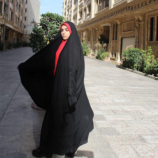 چادر لبنانی کن کن ژرژت حجاب حدیث
