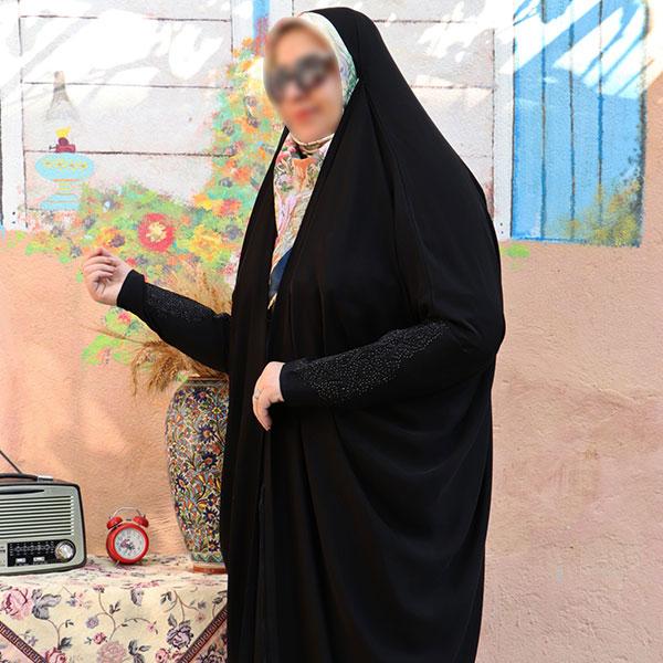 چادر لبنانی حریرالاسود حجاب حدیث3