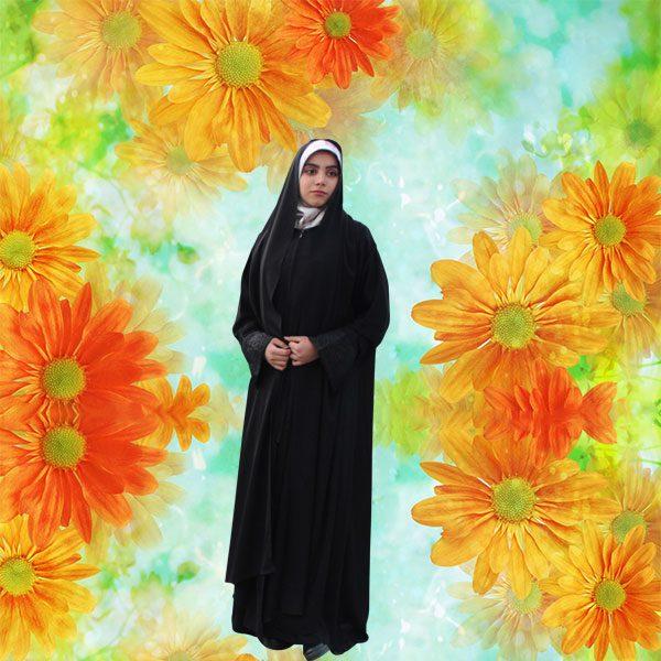 چادر شال دار مریمی کن کن عروس حجاب حدیث