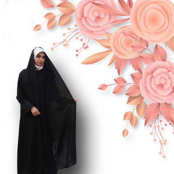 چادر شال دار مریمی کن کن ژرژت حجاب حدیث