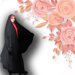 چادر لبنانی کن کن عروس حجاب حدیث