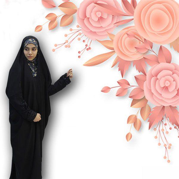 چادر ساجده کن کن ژرژت حجاب حدیث