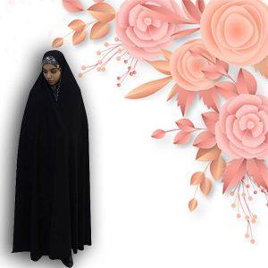 چادر سنتی کن کن عروس حجاب حدیث