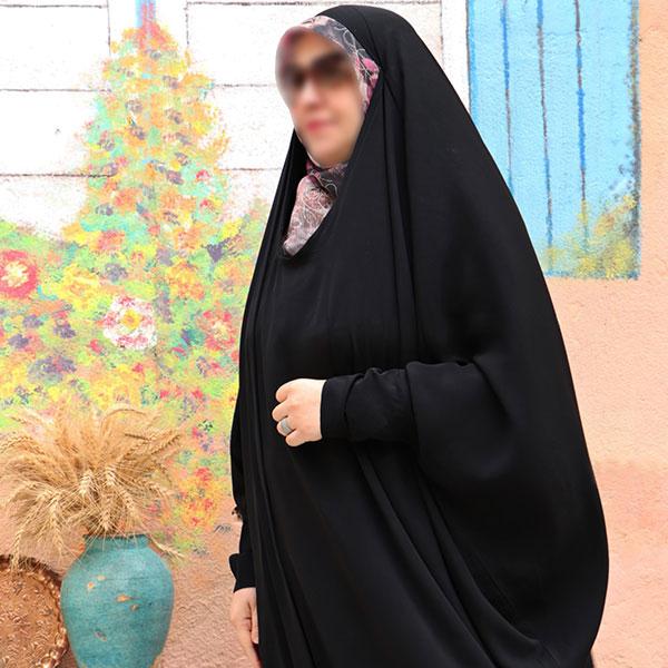 چادر ملکه حریرالاسود حجاب حدیث