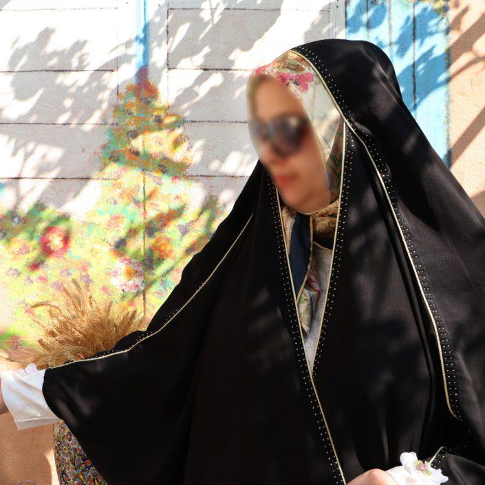 چادر عبا کن کن ندا قیطاندوزی