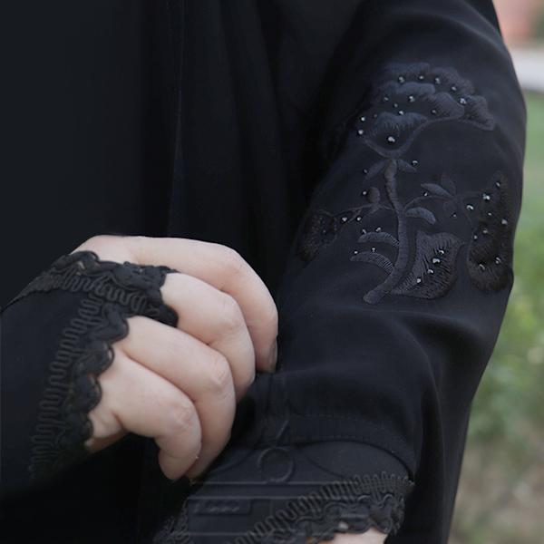 چادر عبا کن کن ندا گلدوزی6