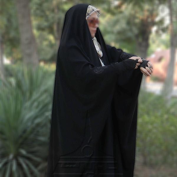 چادر عبا کن کن ندا گلدوزی7