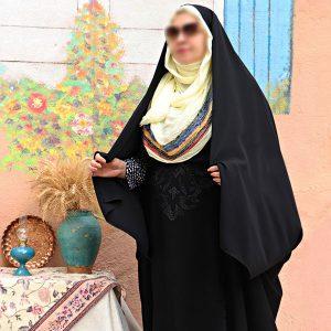 چادر ستایش کن کن ندا سنگدوزی حجاب حدیث