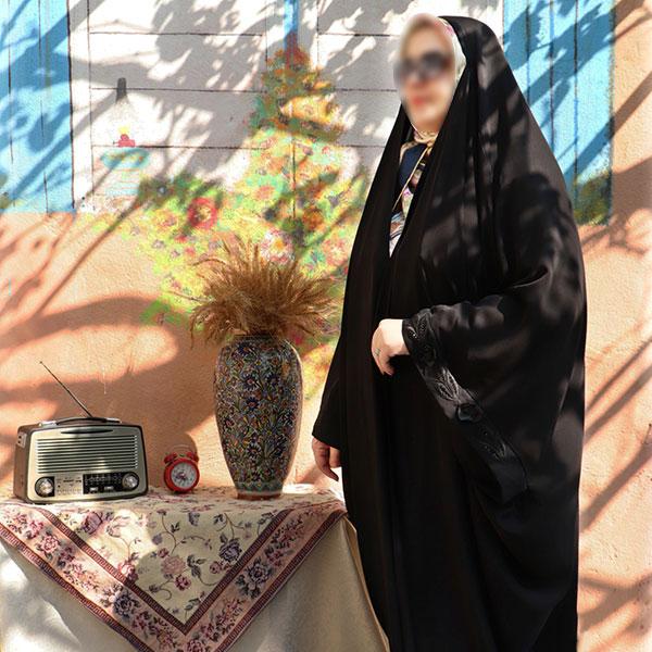 چادر عبا پرنسسی کن کن ندا گلدوزی