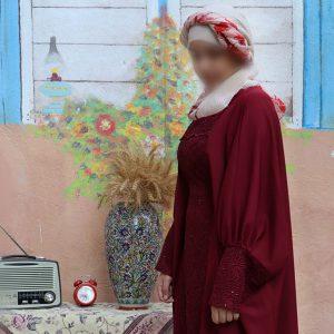 مانتو عربی کد006 حجاب حدیث2