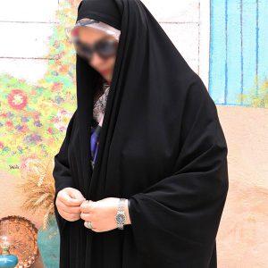 چادر دانشجویی کن کن آیتک حجاب حدیث