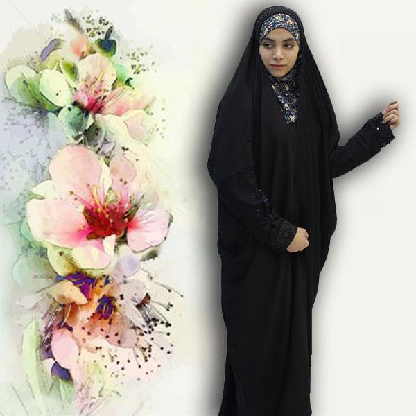 چادر ساجده مهارجه حجاب حدیث
