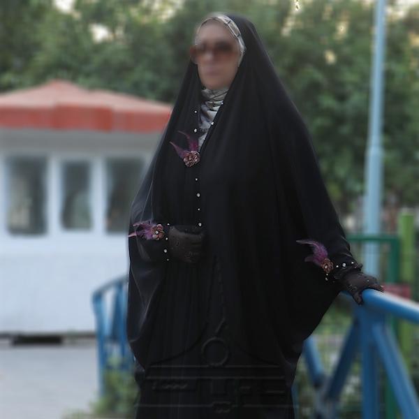 چادر عبا کن کن ندا تمام جواهردوزی مختصر1